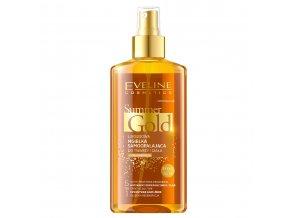 Eveline cosmetics Summer Gold Samoopalovací sprej pro obličej a tělo, světlá pleť 150 ml | evelio.cz