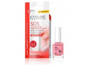 Eveline cosmetics Nail Therapy SOS nehtový kondicionér pro lamavé nehty | evelio.cz