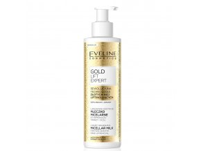 Eveline cosmetics gold lift expert odlicovaci mleko SLEVA | evelio.cz