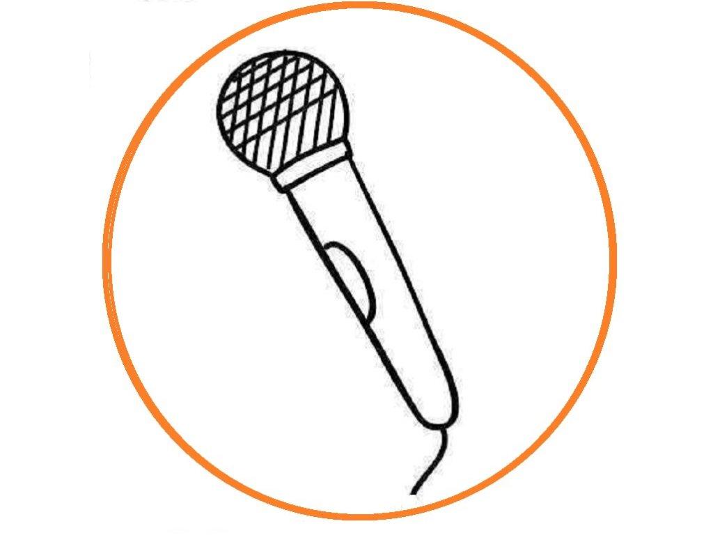 okul oncesi mikrofon boyama sayfasi 3