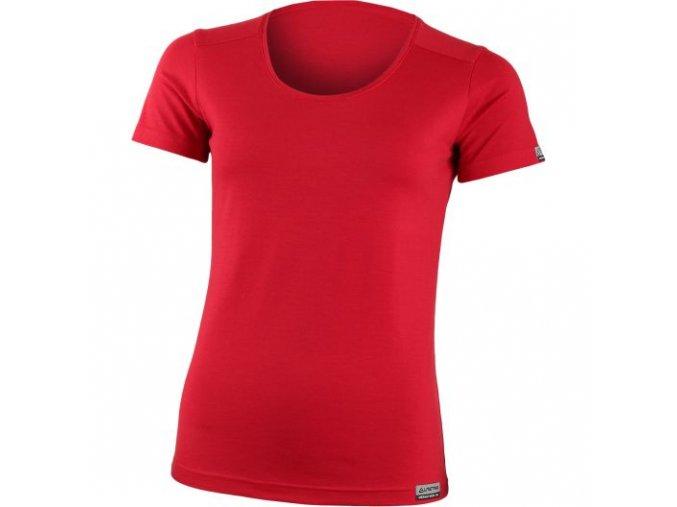 lasting damske merino triko irena cervene