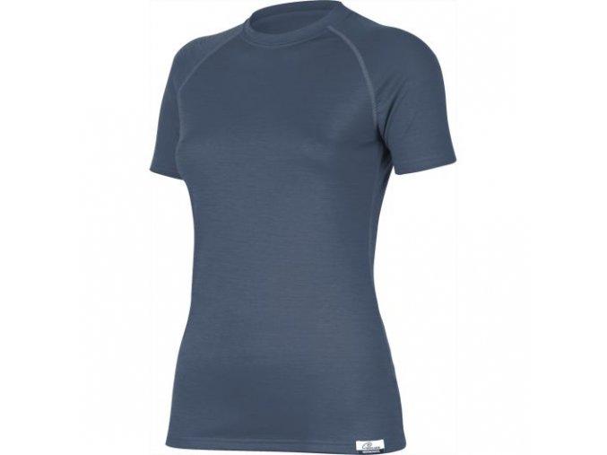 lasting damske merino triko alea modre