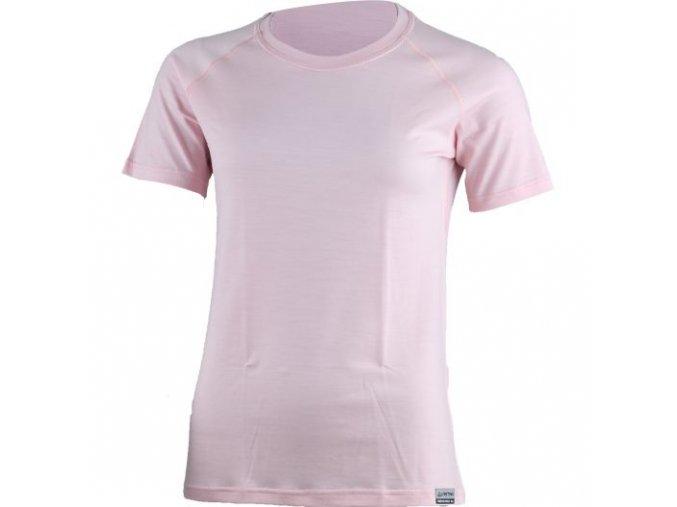 lasting damske merino triko alea ruzova