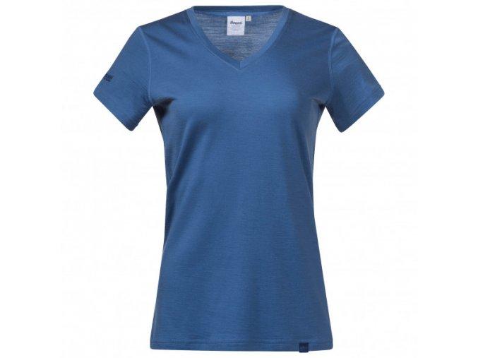 bergans womens bloom wool lady tee t shirt