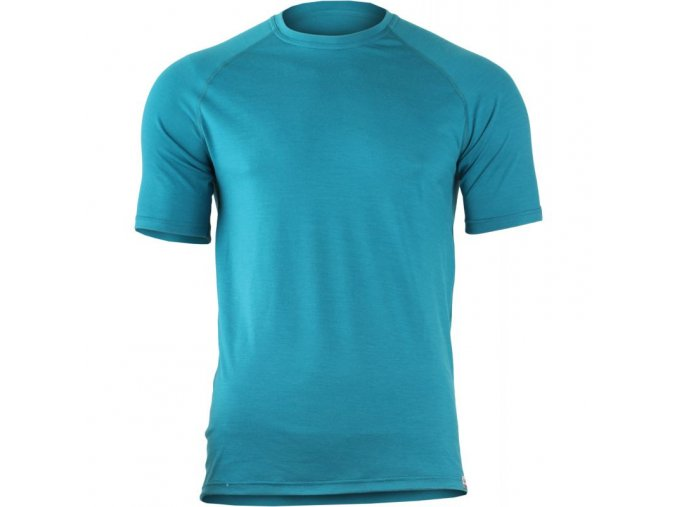 quido 5858 modre panske vlnene merino triko