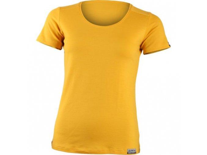 lasting damske merino triko irena zlute