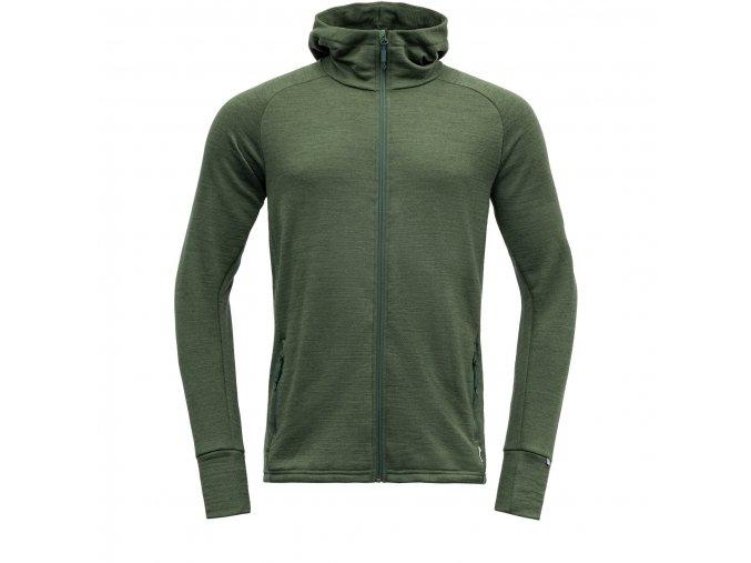 ms nibba jacket with hood merino wool hoodie devold forest melange m 636584 2000x