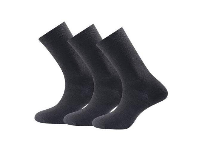 devold medium socks 3ks černé