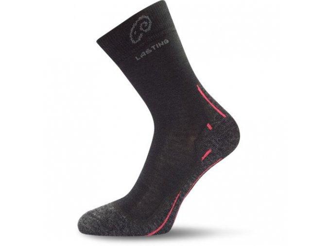 lasting merino ponozky whi cerne 2