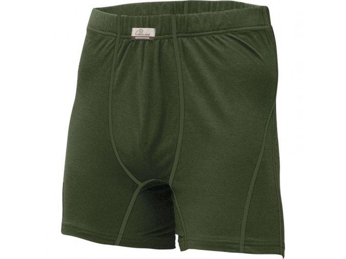 lasting panske merino boxerky nico zelene