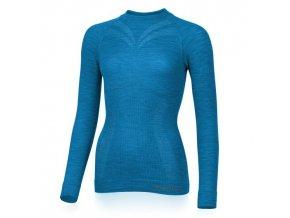 lasting damske merino triko matala modre