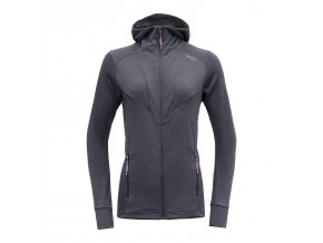 devold aksla woman jacket with hood night