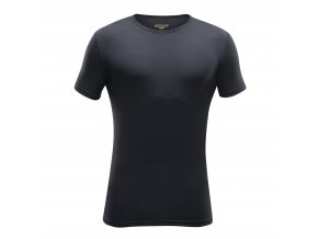 Devold BREEZE pánské merino triko krátký rukáv černé