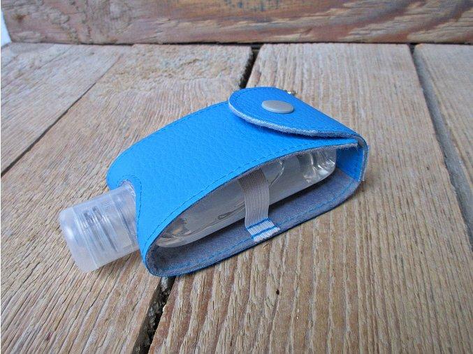 koženkový v modré