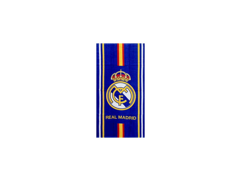 real madrit beach towel
