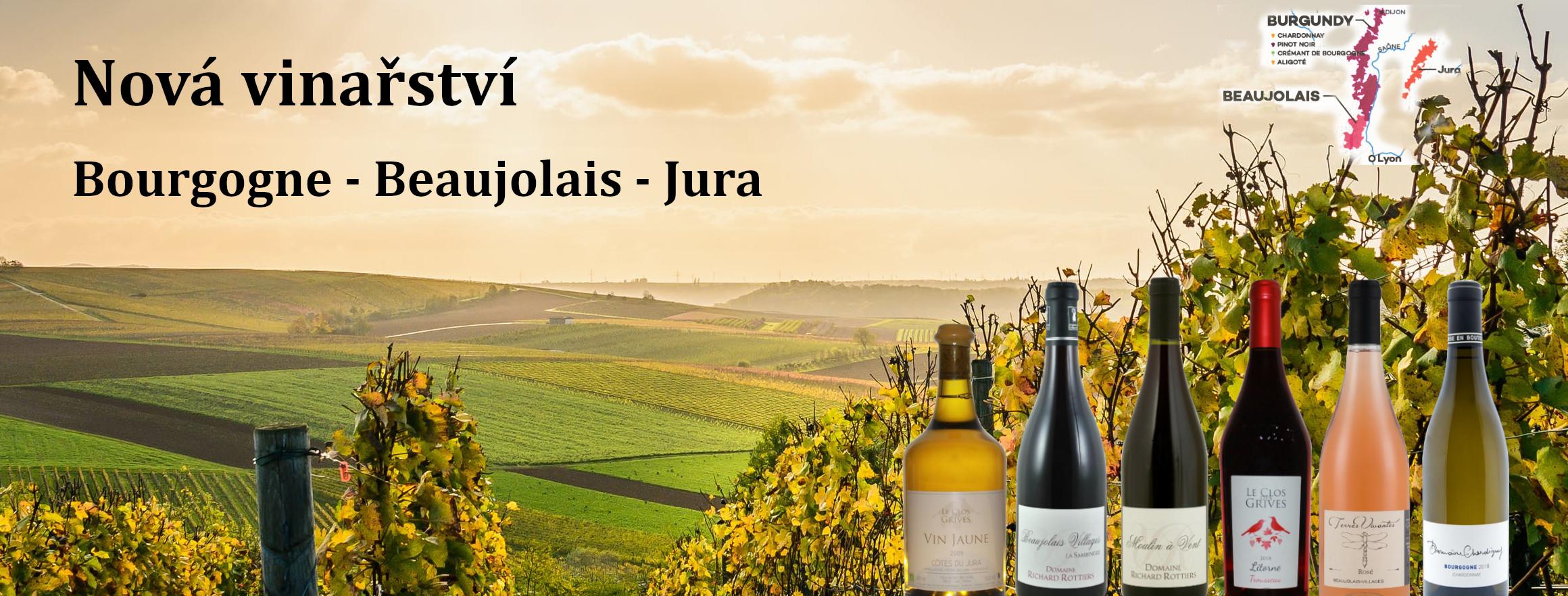 Bourgogne - Beaujolais - Jura
