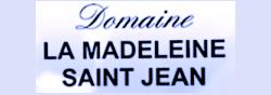 Domaine La Madeleine Saint Jean