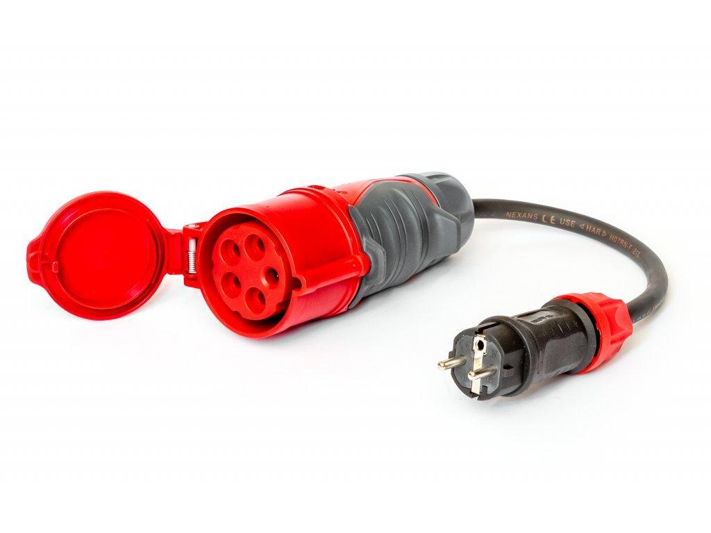 Adapter Titanex   CEE 32A for Schuko