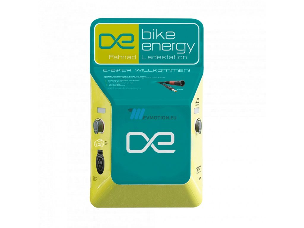 Bike Energy Point - charging station for electric bikes
