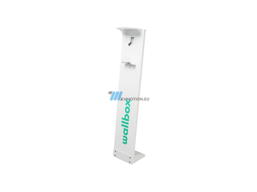 Pole for Wallbox charging stations