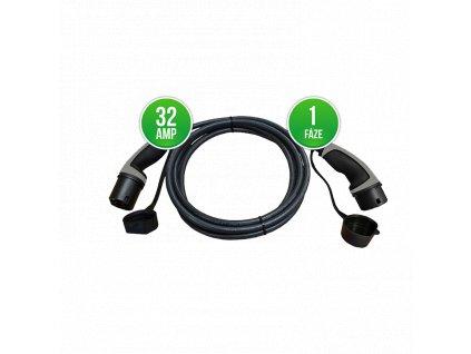 Prémiový nabíjecí kabel Typ 2 | Mennekes | 1f/32A max. 7,4 kW