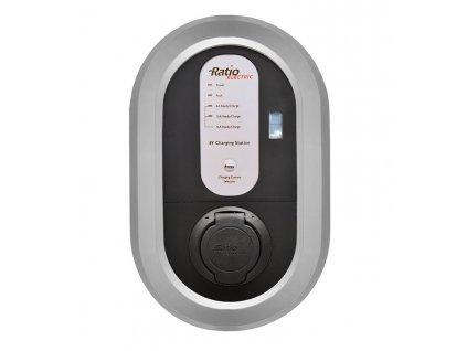 Home Box s DC ochranou | až 22 kW (Autentizace Klíček, Maximální výkon 22 kW / 3 fáze / 32 A, Měření spotřebované energie -)