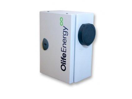 olifeEnergy IndustryBox se zasuvkou