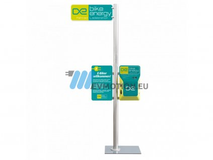 Bike Energy Tower - charging station for electric bikes