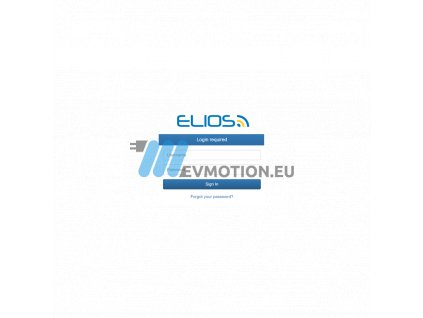 Elios Cloud - control software for Elinta Charge stations