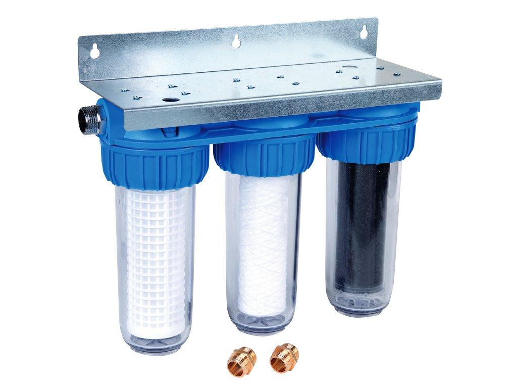 Triplex jemný filtr na dešťovou vodu Honeywell FF60