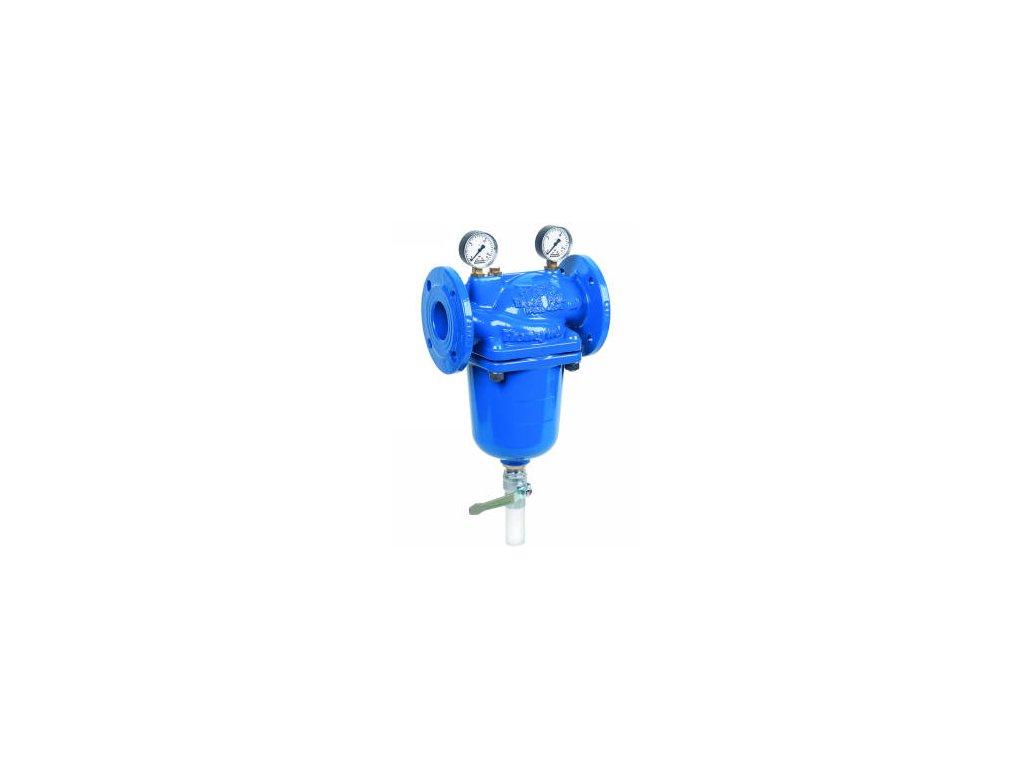 Přírubový filtr se zpětným proplachem Honeywell F78TS DN 100 FB