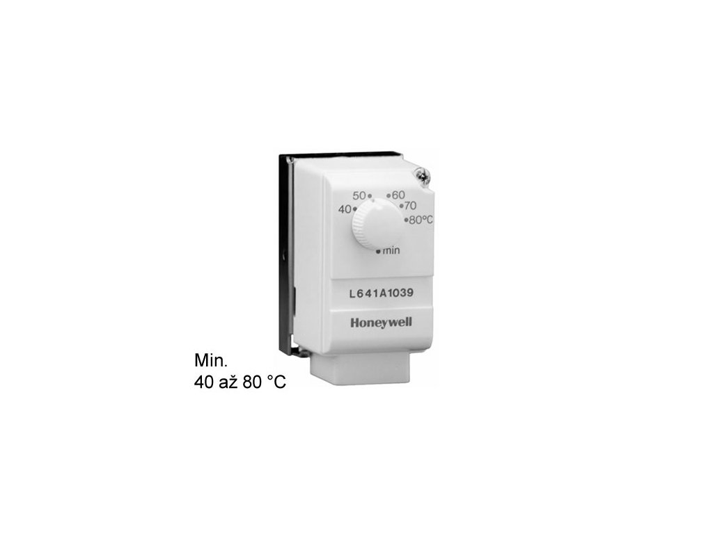 Příložný termostat Honeywell 40/80°C
