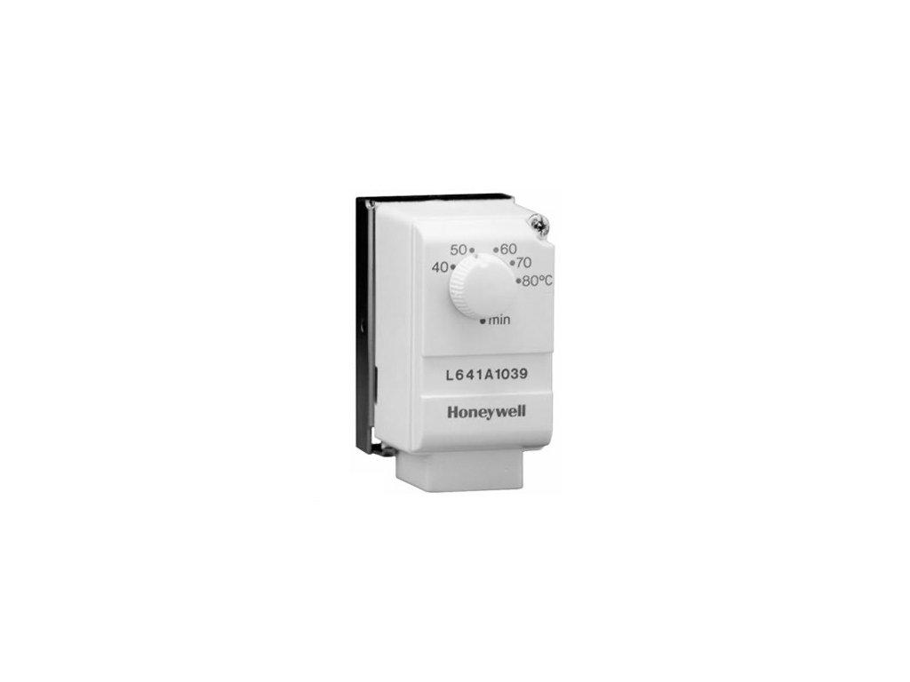 Příložný termostat Honeywell 10/40°C