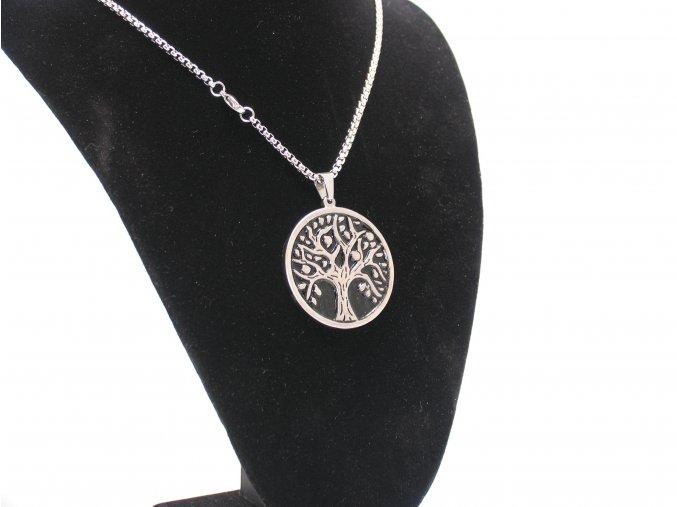 Řetízek s přívěskem strom života