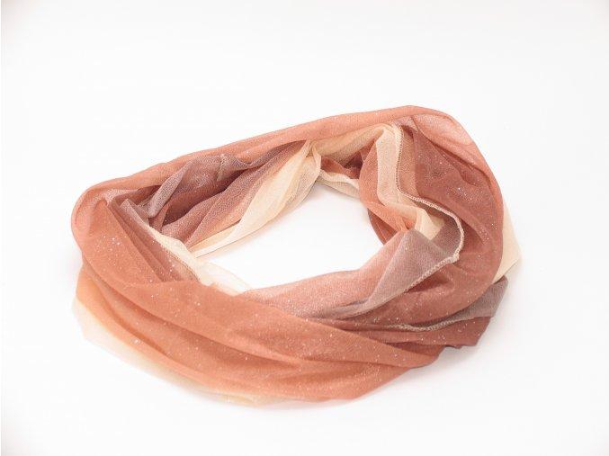 Šátek provlékací různé barvy
