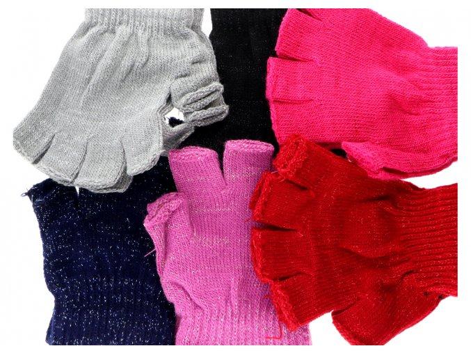 rukavice třpitivé 1