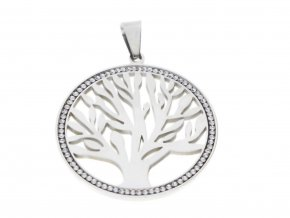Přívěsek strom života se zirkony  + dárkové balení