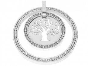 Přívěsek strom života s krystaly  + dárkové balení