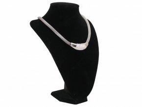 Dámský ocelový náhrdelník + dárkové balení  + dárkové balení