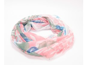 Jemný šátek tunel - různé barvy