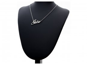 Přívěsek jméno  Gita s řetízkem + dárkové balení