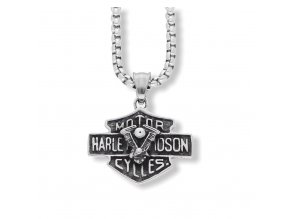 Přívěsek Harley Davidson z chirurgické oceli  + dárkové balení