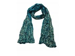 ŠÁTEK 180 x 65 cm 100% Silk hedvábi