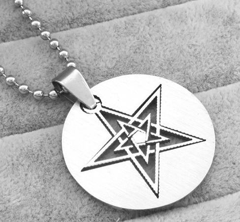 Pentagram s řetízkem