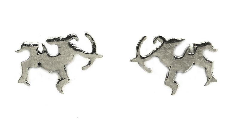 Náušnice z oceli znamení různé druhy Volba znamení: Střelec 23. 11. až 21. 12.