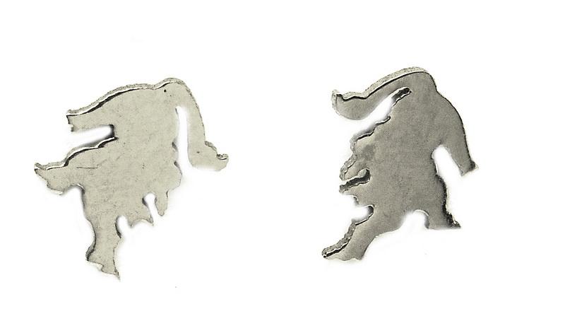 Náušnice z oceli znamení různé druhy Volba znamení: Lev 23. 7. až 22. 8.