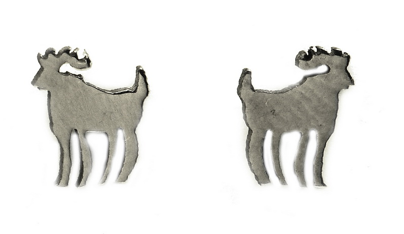 Náušnice z oceli znamení různé druhy Volba znamení: Beran 21. 3. až 20. 4.