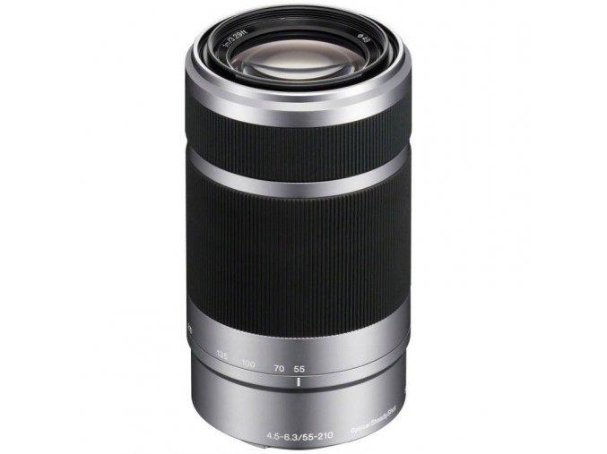 Sony E 55-210mm F/4.5-6.3 OSS strieborný (APS-C, E-Mount)