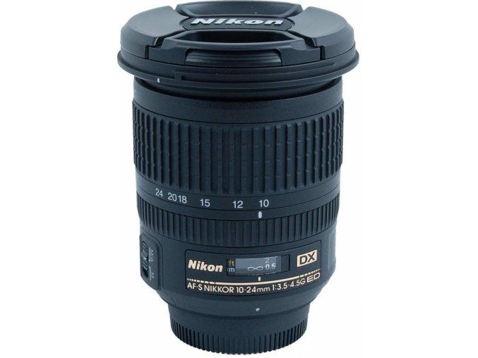 Nikon AF-S 10-24mm f/3,5-4,5G DX