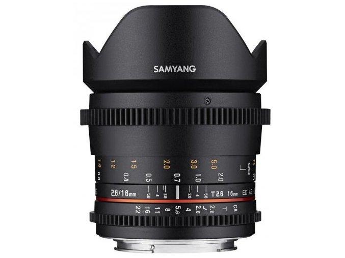 SAMYANG 16 mm T2,6 ED AS UMC pre Sony E